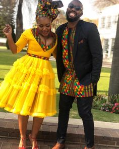 African Fashion Ankara, Latest African Fashion Dresses, African Print Fashion, Africa Fashion, Sepedi Traditional Dresses, South African Traditional Dresses, Traditional Weddings, Couples African Outfits, African Attire