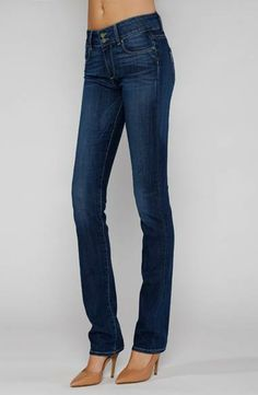 #paige hidden hills straight leg jeans at @envy clothing