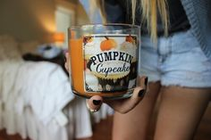 fall, pumpkin, and autumn image Fall Tumblr, Cupcake Candle, Tumblr Quality, Pumpkin Cupcakes, Hello Autumn, Smell Good, Fall Pumpkins, Bath And Body Works, Fall Halloween