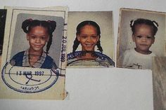 Rihanna ∞ Childhood photos