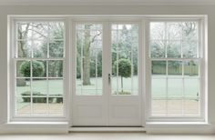 white-wooden-french doors