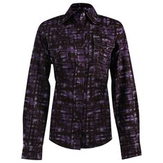 Western Clothing | Cruel Girl Women's Distressed Plaid Western Shirt | Clothing Style