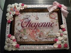 Altered Frame by RitasCountryCreation on Etsy, $17.00