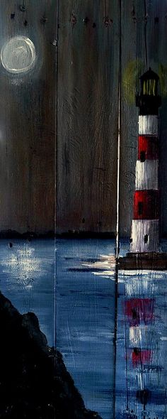 Sc Lighthouse Painting by Ashley Galloway