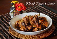 Dayak Black Pepper Stew