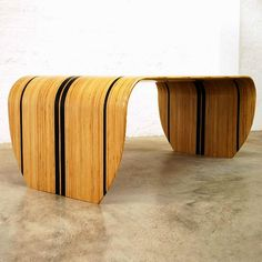Surf-ace Table de Christopher Duffy. Foto: Tom Oxley para Duffy London
