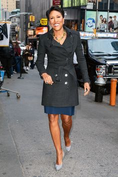 Robin Roberts, hope she does well with her transplant. Loved listening to her commentating on basketball games...