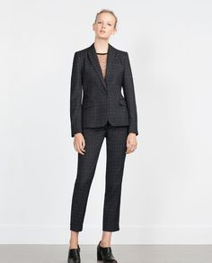 ZARA - WOMAN - CHECK JACKET