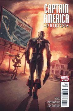 Captain America: Patriot # 4 by Mitch Breitweiser