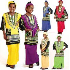 SafariGifts.com - African Clothing, African Dashiki Tops, African Kaftans, Safari Clothing - Kids Clothes