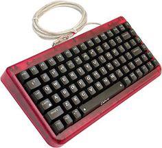 LED red keyboard.  I wanna!!