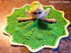 Fairy Crochet Lovey - Tinker Bell