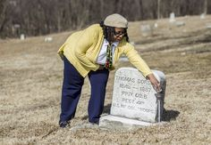 Barbara Barksdale of Steelton is hoping that the community will join her on April 18th, 2013 at Midland Cemetery in Swatara Twp. to help restore and clean up the 1795 cemetery where many African-American ancestors are buried. Christine Baker | cbaker@pennlive.com