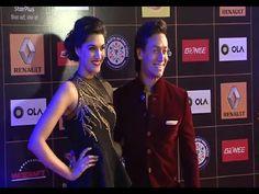 Tiger Shroff & Kriti Sanon at Star Guild Awards 2015.