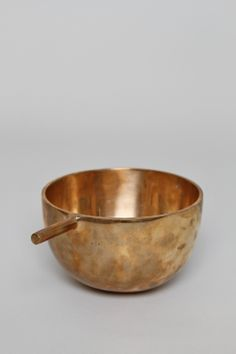Product: Alma Allen's Protuberant Bowl. An American artist and designer living in Joshua Tree, California, Alma produces startlingly attractive organic forms in bronze and wood. The Protuberant Bowl was produced in a signed and numbered edition of 250 and I would love to get my hands on this stunning, functional piece of art while I still can. I think the idea of using something this thoughtfully crafted in the everyday makes this premium.