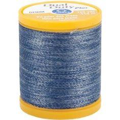 #3: Dual Duty Denim Thread For Jeans 125 Yds: Denim Blue.