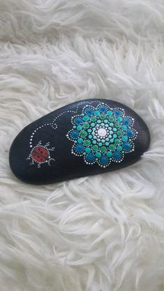 Dot Art Mandala Painted Stone Fairy Garden Gift Decoration Painted Rock Beachestone. Big stoune: 450gr 11:8sm I am a new seller from Russia ( sorry for my English ) all my products are high quality, painted carefully and with love! I really like to draw on pebbles) any of my works I can make to order in the colours as You want, the deadline 1-3 days, the price is the same ! Every sample I send in a beautiful gift box! I also have a Internet shop in Russian market masters, there are a lot of…