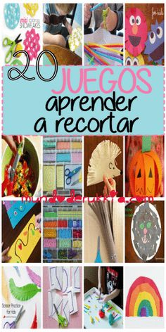 Actividades Educativas Cutting Activities, Motor Skills Activities, Preschool Activities, School Projects, Projects For Kids, Crafts For Kids, Early Literacy, Kids And Parenting, Teacher Hacks