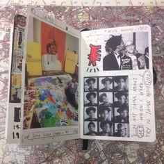 Art Journal - Inspiration for keeping an art journal