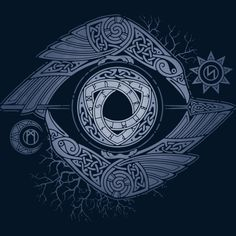 ODIN'S EYE T Shirt By RAIDHO Design By Humans