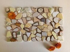 Colorful Small Beach Pottery, Tile Shards, 77 pieces Sea Urchin Shell, Euro Coins, Thing 1, Dec 30, Tile Patterns, Photo Jewelry, Art Projects, Mosaic, Finding Yourself