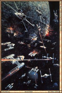 Star Wars - 1977    By John Berkey