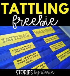 When students do not know the difference between tattling and reporting, it can eat up instructional time and frustrate even the most experienced teacher. I like to spend a good chunk of time at the beginning of the year teaching and using examples to illustrate the difference.  Today I want to share some ideas for using the book, A Bad Case of Tattle Tongue in the classroom to address tattling and reporting.