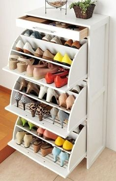 cool Shoe drawers from IKEA