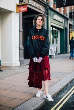 Stolen Girlfriends club and romance was born @ London Fashion Week Street Style | British Vogue