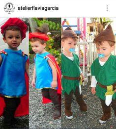 Fantasia Príncipe e Fantasia do Peter Pan.