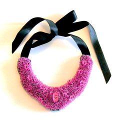 cyclam Jewelery, Crochet Necklace, Shop My, Handmade, Fashion, Chain, Jewerly, Jewlery, Crochet Collar