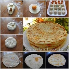 VELİBAH ÇERKEZ GÖZLEMESİ Greek Cooking, Cooking Time, Pastry Recipes, Cookie Recipes, Paratha Bread, Turkish Pizza, Turkish Recipes, Ethnic Recipes, Naan