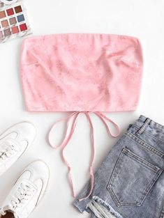 Cute Lazy Outfits, Trendy Outfits, Kids Outfits, Cool Outfits, Summer Outfits, Girls Fashion Clothes, Fashion Outfits, Trendy Fashion, Diy Summer Clothes