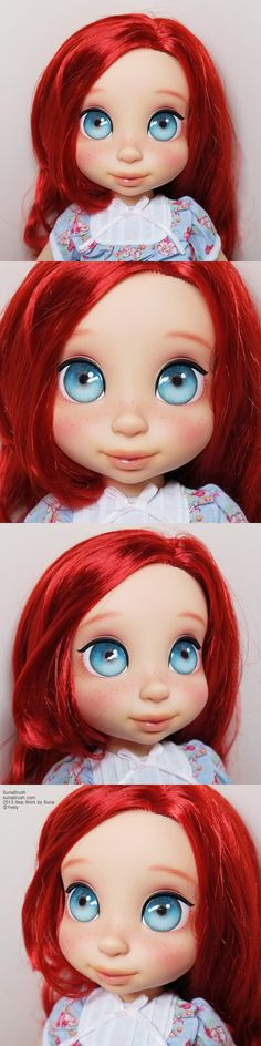 Disney Animator's Collection Dolls Ariel reimagined.