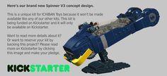 ICHIBAN Toys - New Spinner V3 kit on Kickstarter