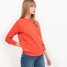Message-Sweatshirt aus Bio-Baumwolle