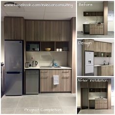 Commercial mini kitchen completed for Execys IT in Century City Kitchen Installation, Mini Kitchen, Conceptual Design, Under Stairs, New Builds, Kitchens, Commercial, Kitchen Cabinets, City