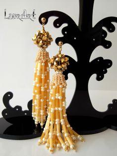 """LaurArt - handmade Jewelry: TUTORIAL: ORECCHINI """"OCTOPUS"""" #earrings"""