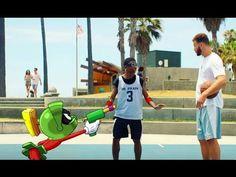 El marciano Marvin reta a Blake Griffin en lo último de Jordan