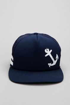 83b2085c898 Toddland Anchor Trucker Hat - Urban Outfitters Snapback Hats