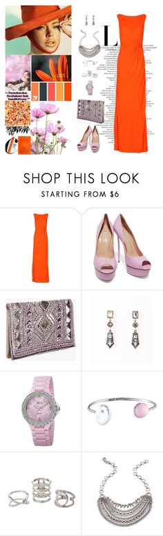 """""""Untitled #506"""" by molly4brit ❤ liked on Polyvore featuring Issa, Casadei, BCBGeneration, bürgi, Charlotte Russe and DANNIJO"""