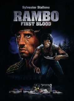 Rambo: First Blood 27x40 Movie Poster (1982) #filmschools