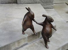 Bronze sculptures - Georgia Gerber
