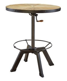 Love this Adjustable Metal Crank Table by Furniture Origins on #zulily! #zulilyfinds would love!!!