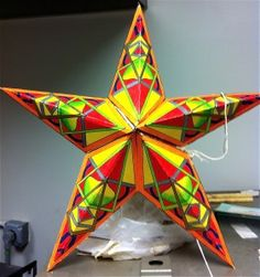 Elements and Principles Review: 3D star