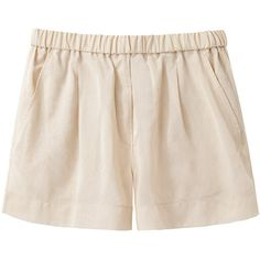 Collection by Giada Forte My Shorts (370 BRL) ❤ liked on Polyvore featuring shorts, bottoms, short, pants, ruched shorts, stretch waist shorts, relaxed shorts, short shorts and elastic waistband shorts