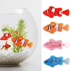 Swim Electronic fish Battery Powered Robot Toy fish Pet