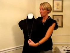 How to wear multi strand necklaces!!!!  Nancy Hanrahan Premier Designs Jewelry Combos August 2011