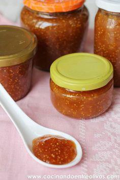 Mermelada de higos. Receta paso a paso   -   Figs jam. Recipe Step by Step