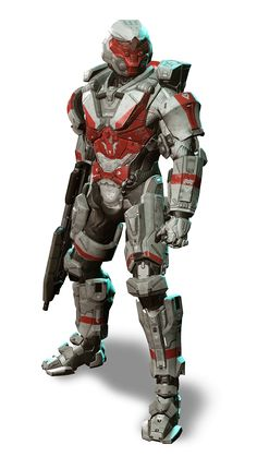 MJOLNIR Powered Assault Armor: STALKER variant.